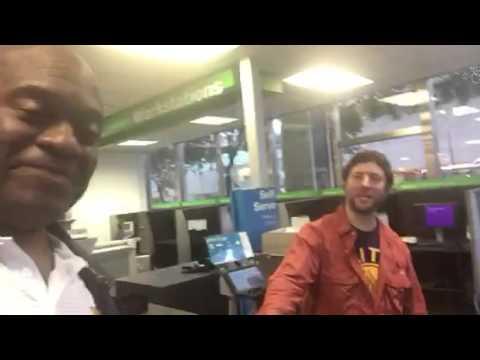 Random Zennie62 YouTube Fan Siting In San Francisco