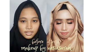 Tutorial make up flawless kekinian cocok untuk lamaran,prewedd ,wisuda,pesta dll pakai make up lokal
