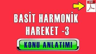 Basit Harmonik Hareket [3]   PDF   Konu Anlatımı   2  