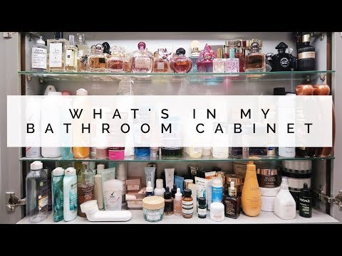 WHAT'S IN MY BATHROOM CABINET? | Danielle Peazer