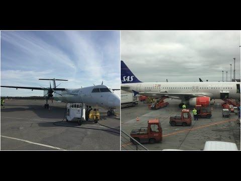 Trip report: Widerøe & Scandinavian Airlines Dash 8-Q400 & A320 TRF-CPH-BLQ, WF305 & SK2685