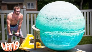 Giant Bath Bomb: Behind the Scenes