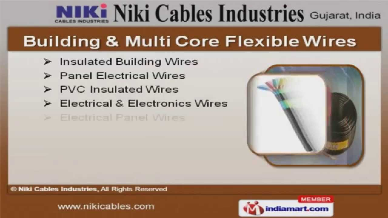 Industrial Cable And Wires by Niki Cables Industries, Gandhinagar ...