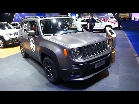 2016 - Jeep Renegade Night Eagle - Exterior and Interior - Auto Show Brussels 2016