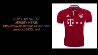 BESTCHEAPSOCCER.COM REVIEW - BAYERN MUNCHEN 16/17 HOME JERSEY - LEGIT 5 STAR UNBOX REVIEW