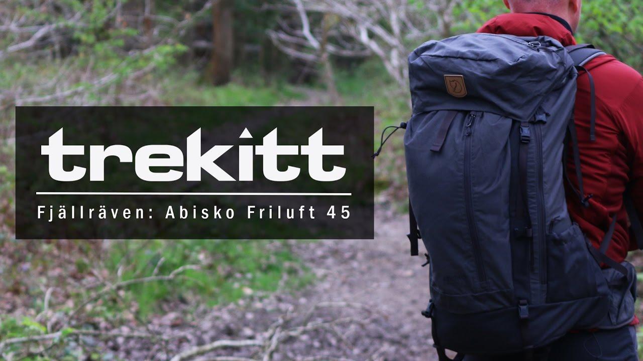 Abisko Friluft 45 från Fjällräven | Friluftsland.se