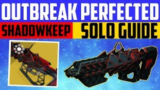 Destiny 2 Shadowkeep - ZERO HOUR SOLO GUIDE - How to get Outbreak Perfected Exotic