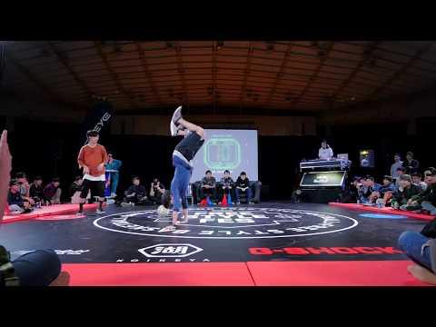 Freestyle Fes 2017 #14 SemiFinal2 Ibuki vs Tokura FreestyleFootball OpenClass