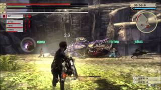 God Eater 2 Rage Burst PS4 Demo Gameplay