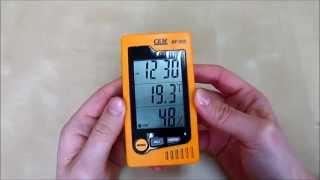Термогигрометр CEM DT - 322