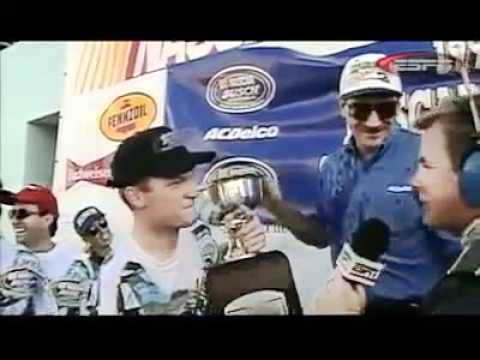 Dale Earnhardt Jr's tribute to his dad