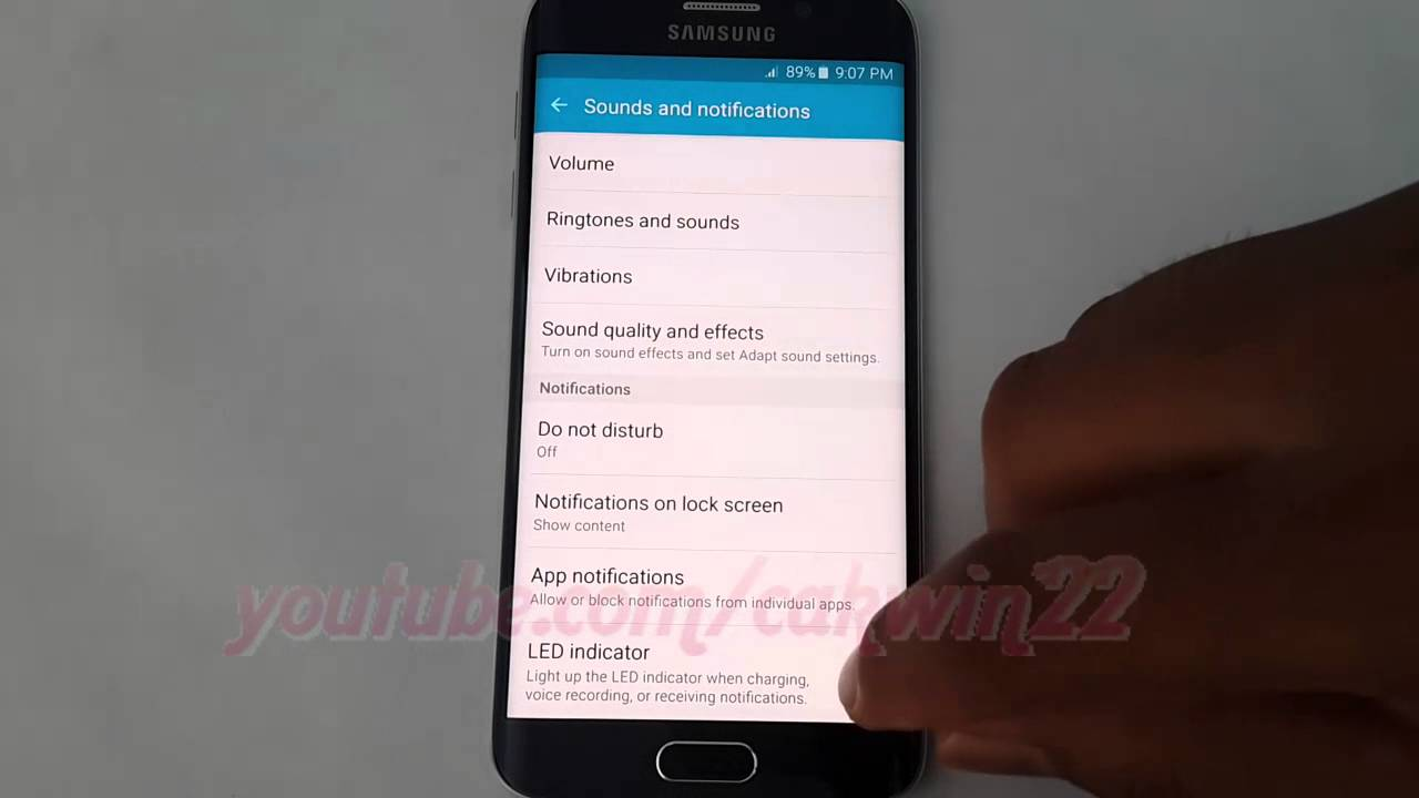 Android Lollipop : How to Enable or disable Led indicator ...