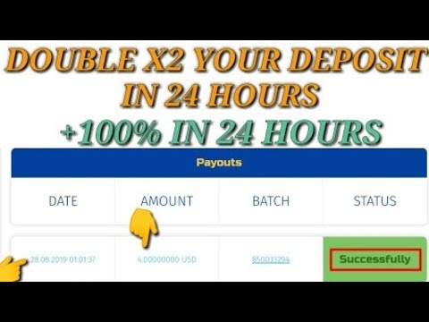 Cryptoarmor io 💵 Update Payment Double X2 your money in 24 hours | Paying  28/08/2019