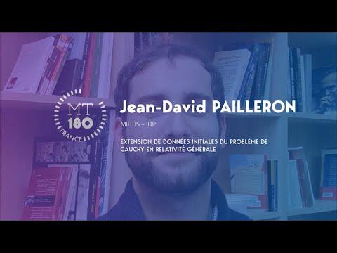 Jean-David PAILLERON - Ma Thèse en 180 secondes 2020