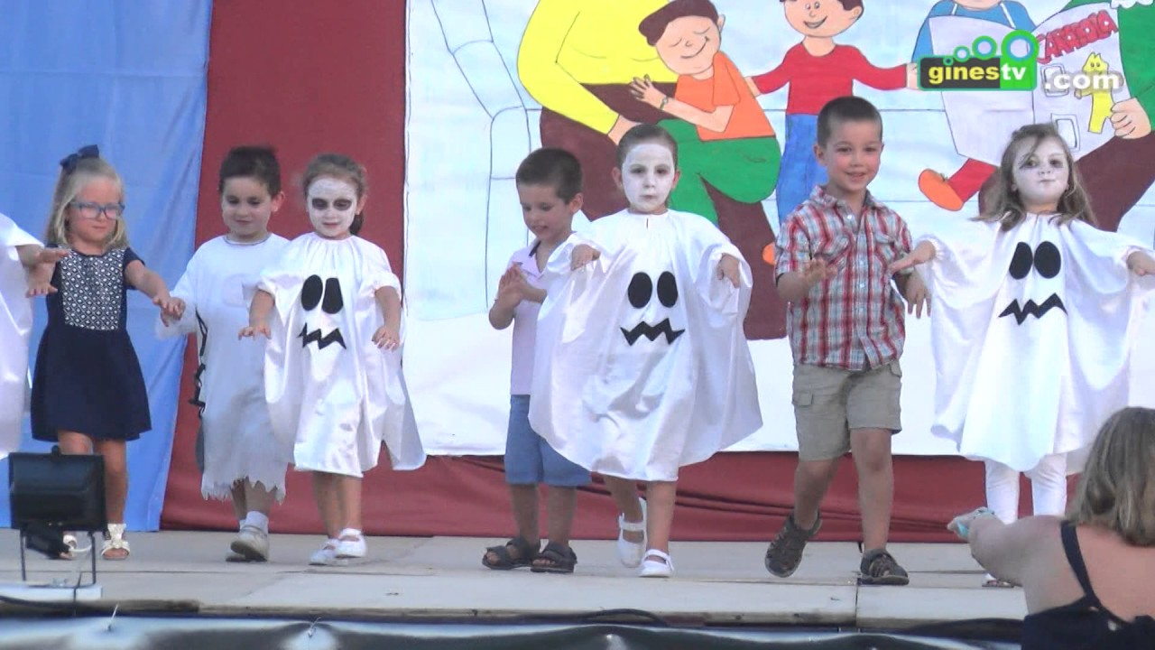Fiesta de fin de curso 2016-2017 del colegio Carmen Iturbide de Gines
