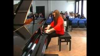 Emina Huskić (15) - 13. International Competition Of Young Pianists NIŠ 2014