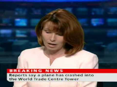 Sky News - First report of World Trade Center crash