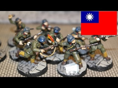 Chinese Nationalist Infantry 1937 1940