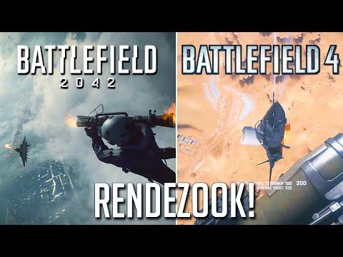 Battlefield 2042 Rendezook (jet scene) vs Battlefield 4 (comparison)