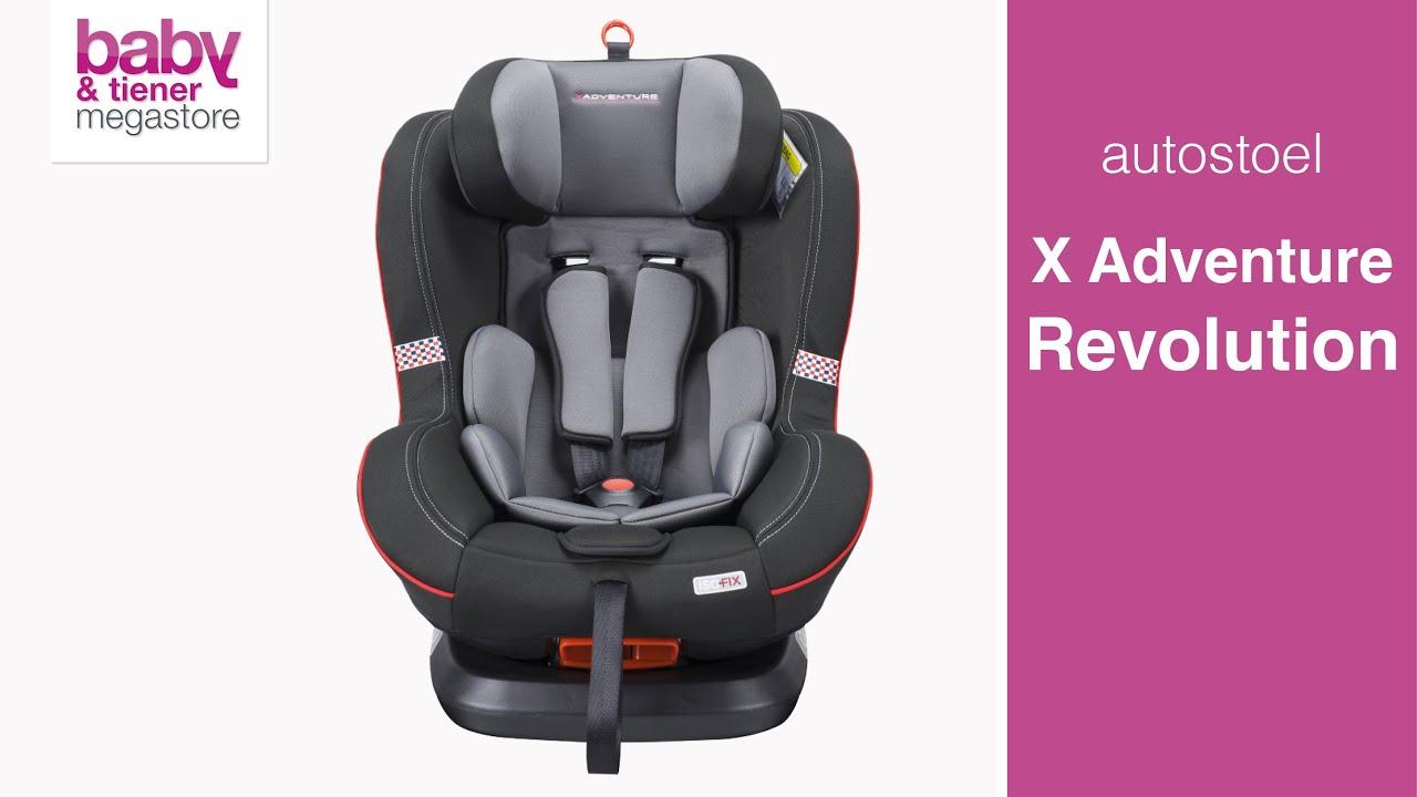 Kinderstoel Auto 6 Jaar.X Adventure Autostoel Revolution Instructie Video