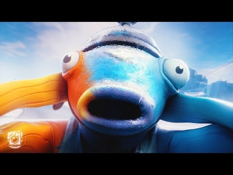 HOW FISHSTICK WAS FROZEN! *WINTERFEST* (A Fortnite Short Film)