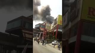 Rita mall tegal kebakaran