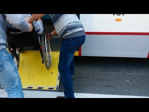 Инвалид Инна - про ужасы посадки в общественный транспорт
