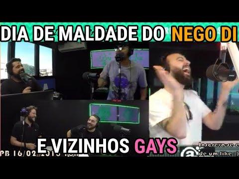 DIA DE MALDADE DO NEGO DI E VIZINHOS HOMOAFETIVOS
