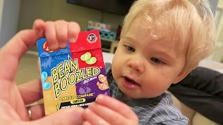 TODDLER BEAN BOOZLED CHALLENGE!