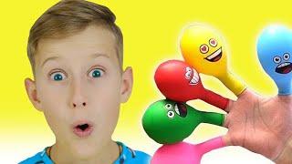 Alex plays with Balloons | Daddy Finger Nursery Rhymes | 동요와 아이 노래 | 어린이 교육