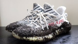 HOW TO CLEAN YEEZY BOOST 350 V2 (BEST RESULTS)