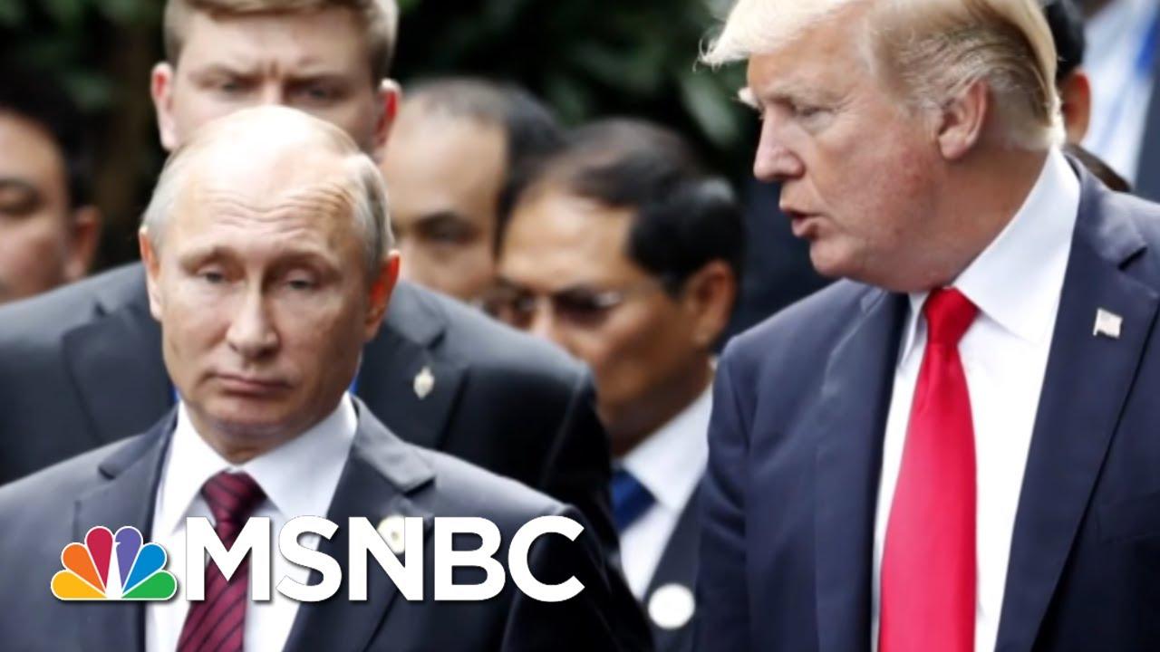 At Nato Summit President Donald Trump Does What Vladimir Putin Wants Most Morning Joe Msnbc