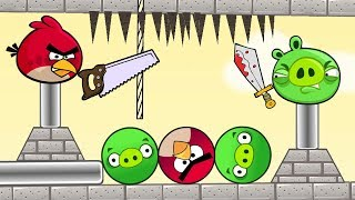 Angry Birds Piggies Out - RESCUE ROUND BIRDS AND ROUND PIGS BY FIGHTING PIGGIES!