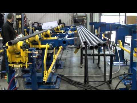CMP: Large Diameter Tube Material Handling Line
