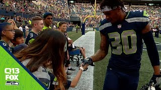 Seahawks Safety Bradley McDougald Plays For His Brother | Q13 FOX