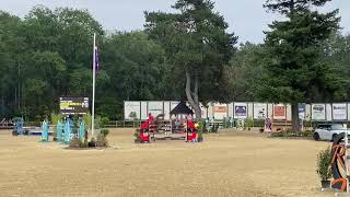 Salto Des Nauves double clear in YR nation cup Wierden (2nd round)
