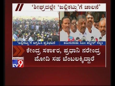 ''Wait, Jallikattu Will Resume Soon'', Says CM O Panneerselvam