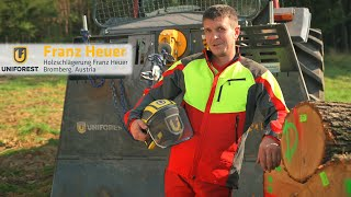Testimonial video / promo: Franz Heuer about Uniforest 120Gpower - Alenfra Productions