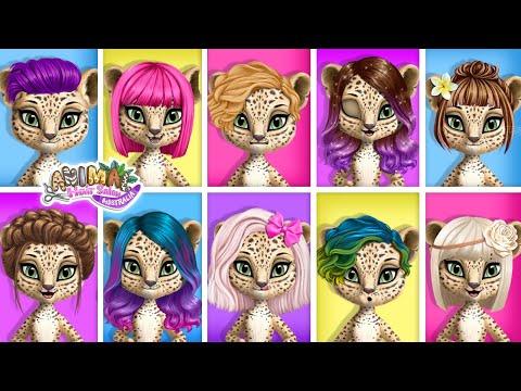 Animal Hair Salon Australia - The Best Beauty Salon For Wild Animals | TutoTOONS Games For Kids