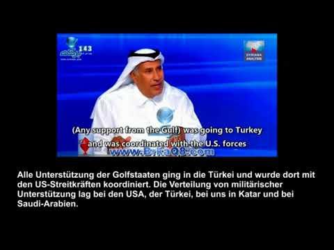 Schockierend! Qatar gibt Geheimnisse hinter dem Krieg gegen Syrien preis