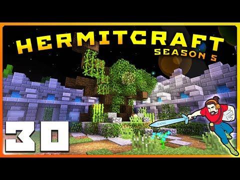 HermitCraft 5 | A VERY MYSTICAL RETURN?! | Ep 30 || Minecraft Vanilla 1.12