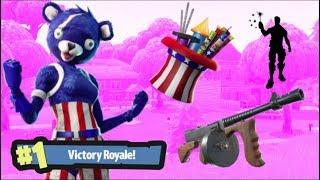 *NEW* FIREWORKS TEAM LEADER SKIN :] / SPARKLER EMOTE / WEEK 10 CHALLENGES! (Fortnite Battle Royale)