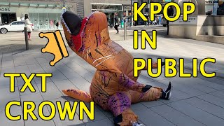 【T-REX KPOP IN PUBLIC CHALLENGE】  - TXT - CROWN DANCE COVER