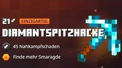 Wir testen die legendäre Diamantspitzhacke! - Minecraft DUNGEONS Closed BETA Folge #06