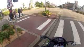 Découverte Cherbourg à moto gopro2 (1/2)