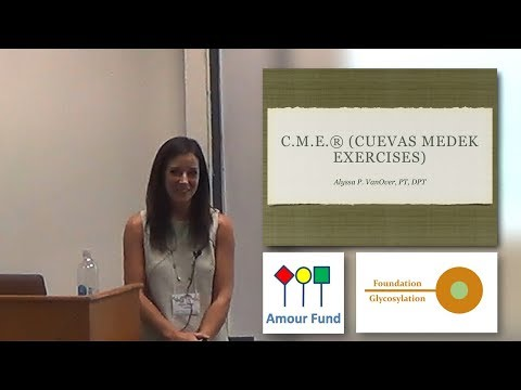 Cuevas Medek Exercise (CME) Benefits for CDG - Alyssa Parker
