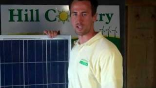 Solar Panel Show and Tell with Hill Country Ecopower, a TX Solar and Geothermal Installer