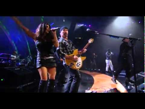 U2 and  Black Eyed Peas - Mysterious Ways & Where Is The Love