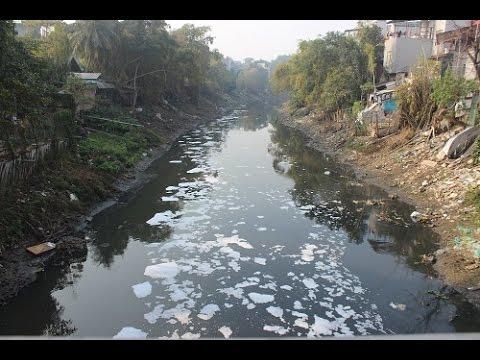 Top 5 dòng sông ô nhiễm nặng tại Việt Nam
