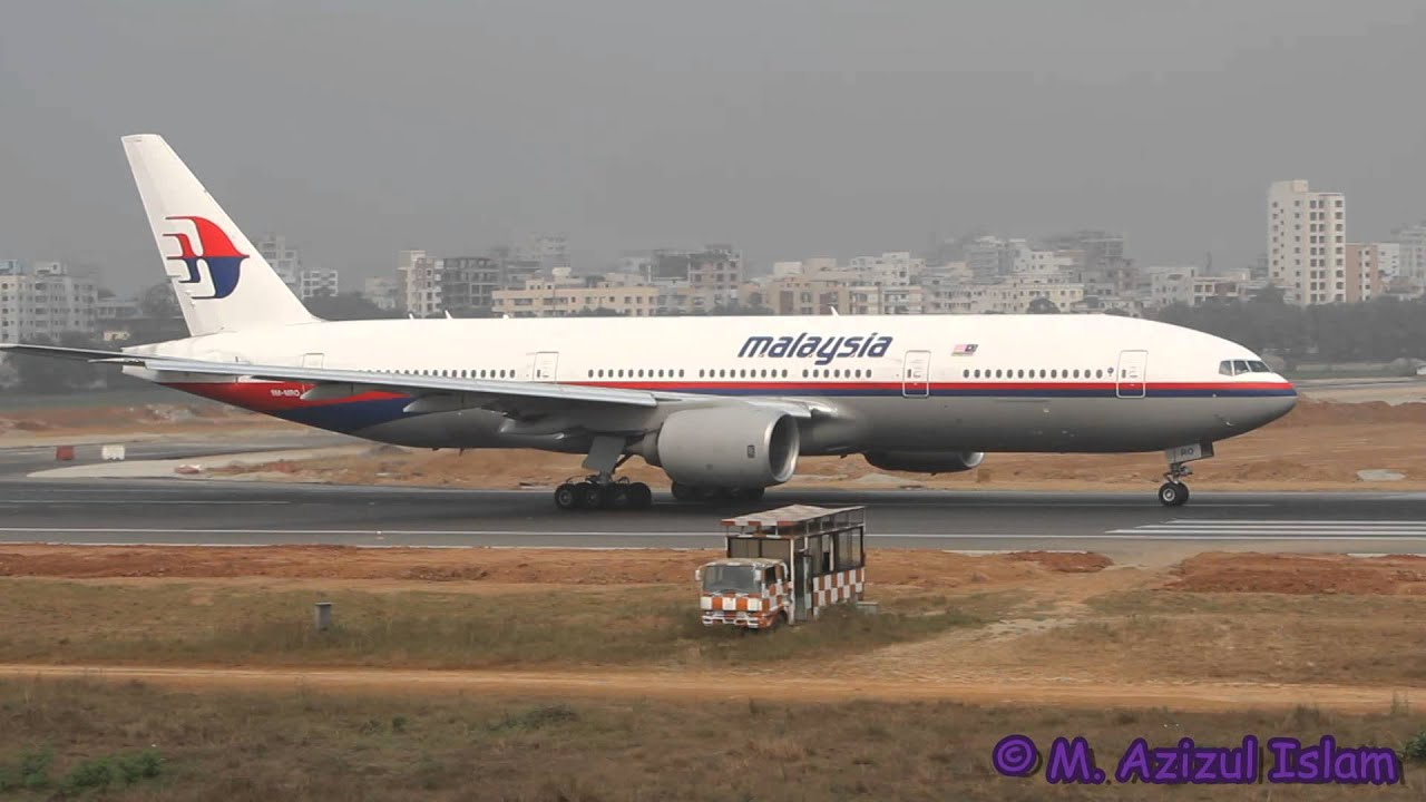 Malaysia Airlines Boeing 777 200er 9m Mro At Dhaka Mh370